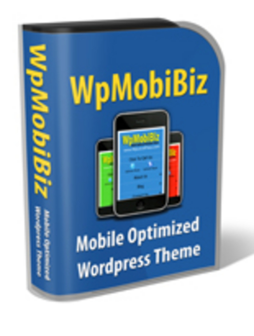 Product picture WpMobiBiz WP Mobile Theme