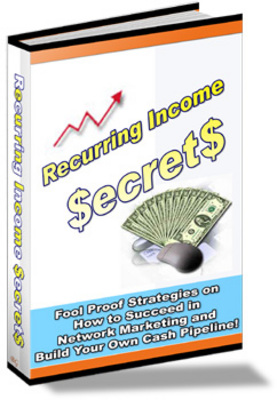 Product picture Learn About Recurring Income Secrets